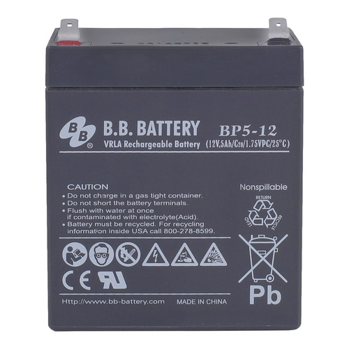 Аккумулятор B.B. Battery BP 5-12