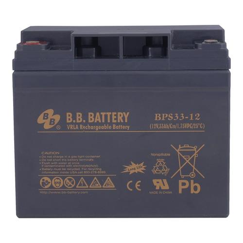 Аккумулятор B.B. Battery BPS 33-12 F