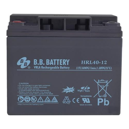 Аккумулятор B.B. BATTERY HRL 40-12S