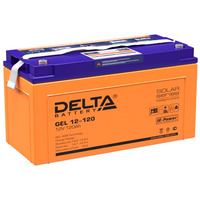 Аккумулятор Delta GEL 12-120