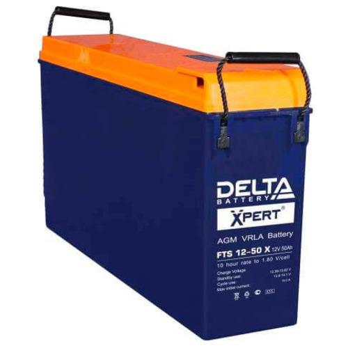 Аккумулятор Delta FTS 12-50X