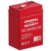 Аккумулятор General Security GS 4.5-6