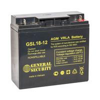 Аккумулятор General Security GSL 18-12L