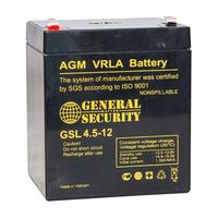 Аккумулятор General Security GSL 4.5-12