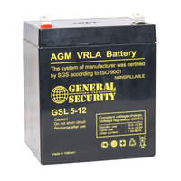 Аккумулятор General Security GSL 5-12