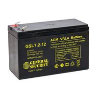 Аккумулятор General Security GSL 7.2-12