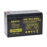 Аккумулятор General Security GSL 9-12