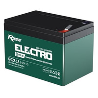 Аккумулятор RDrive ELECTRO VELO 6-DZF-12 (6-DZM-12)