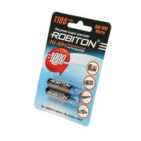 Аккумулятор ROBITON 1100MHAAA-2 BL2 10187