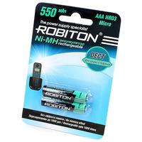 Аккумулятор ROBITON DECT 550MHAAA-2 BL2 13903