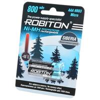 Аккумулятор ROBITON SIBERIA 800MHAAA-2 низкотемпературные BL2 14874