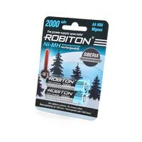Аккумулятор ROBITON 2000MHAA-2 низкотемпературные BL2 14875