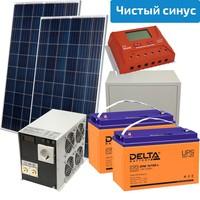 Солнечная электростанция Макси 500-3000 (24 В, чистый синус)
