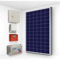 Солнечная электростанция Эко 200-1500 (12 В, чистый синус)