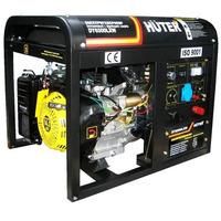 Бензиновый генератор DY6500LXW, с функцией сварки, с колёсами Huter