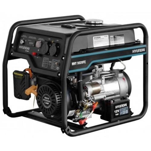 Бензиновый генератор HHY 5020FE