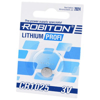 Элемент питания ROBITON PROFI R-CR1025-BL1 CR1025 BL1 14625
