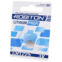 Элемент питания ROBITON PROFI R-CR1225-BL1 CR1225 BL1 14627