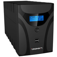 ИБП Ippon Smart Power Pro II 1200 720 Вт 1200 ВА Черный