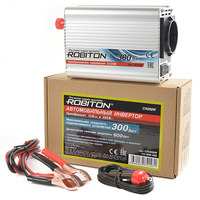 Инвертор 12V-220V ROBITON CN300W 300W 15836