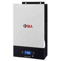 Гибридный солнечный инвертор SILA K 5000MO 48В 140А MPPT ф-ция подмешивания