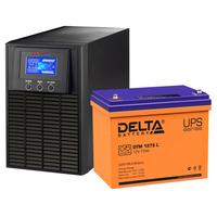 Система резервирования ELTENA+Delta 1000ВА/75А*ч