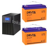 Система резервирования ELTENA+Delta 1000ВА/2х100А*ч