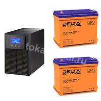 Система резервирования ELTENA+Delta 1000ВА/2х55А*ч