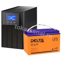 Система резервирования ELTENA+Delta 1000ВА/100А*ч