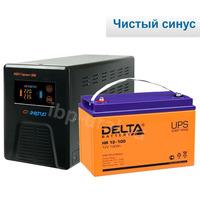 Система резервирования Энергия+Delta 300ВА/100А*ч