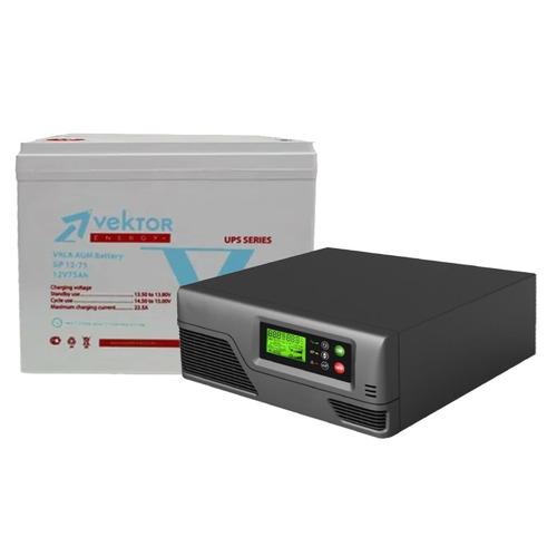 Система резервирования Ecovolt Smart+Vektor 300Вт/75А*ч