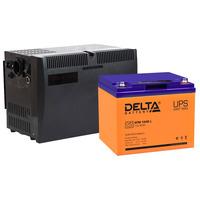 Система резервирования Teplocom+Delta 500ВА/40А*ч