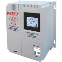 Однофазный стабилизатор напряжения LUX РЕСАНТА АСН-3000Н/1-Ц
