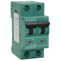Автоматический выключатель постоянного тока FPV-63-800 16 А 2P