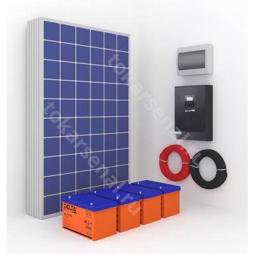 Гибридная солнечная электростанция Hybrid-3K/6